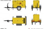 Electric Generator Trailer