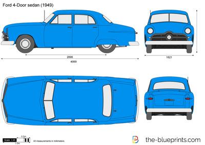 Ford 4-Door sedan (1949)
