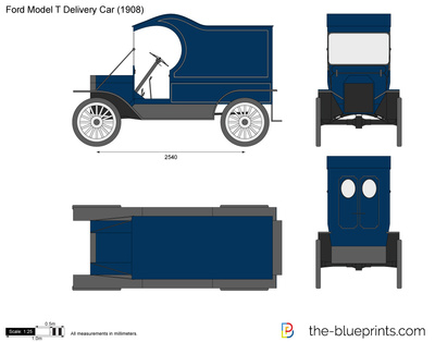 Ford Model T Delivery Car
