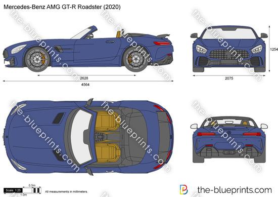 Mercedes-Benz AMG GT-R Roadster