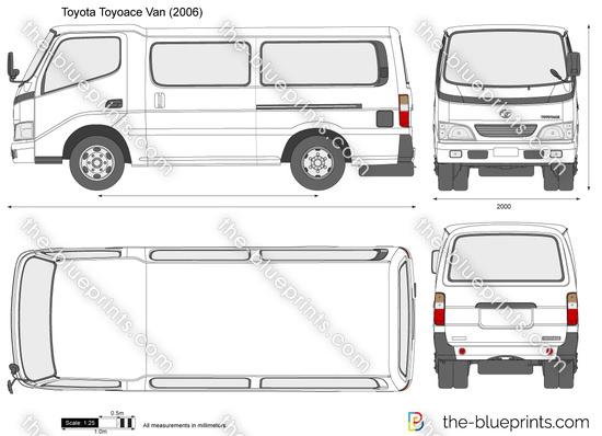 Toyota Toyoace Van