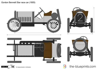 Gordon Bennett Star race car
