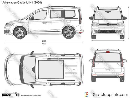 Volkswagen Caddy L1H1 Combi