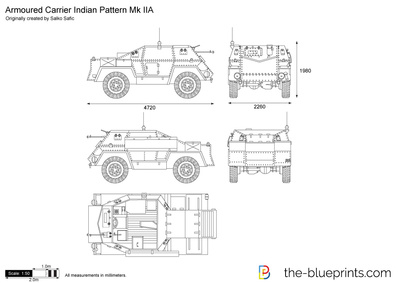 Armoured Carrier Indian Pattern Mk IIA