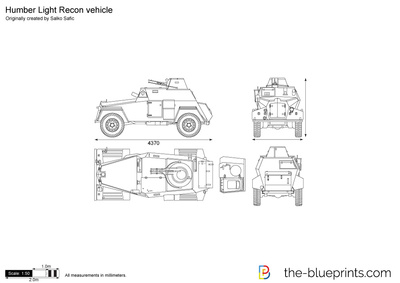 Humber Light Recon vehicle
