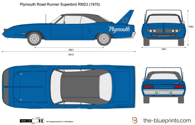 Plymouth Road Runner Superbird RM23