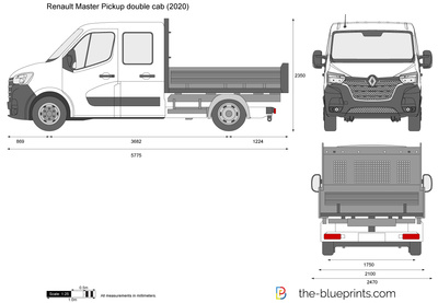 Renault Master Pickup double cab