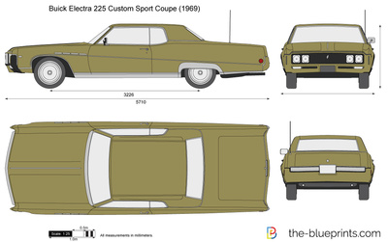 Buick Electra 225 Custom Sport Coupe