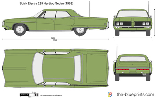 Buick Electra 225 Hardtop Sedan