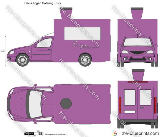 Dacia Logan Catering Truck