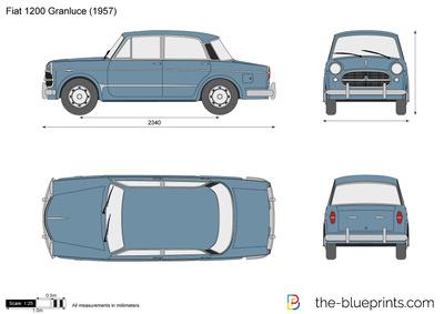 Fiat 1200 Granluce (1957)