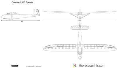 Caudron C800 Epervier