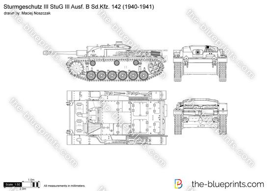 Sturmgeschutz III StuG III Ausf. B Sd.Kfz. 142
