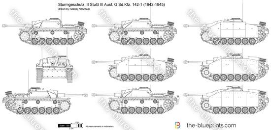 Sturmgeschutz III StuG III Ausf. G Sd.Kfz. 142-1