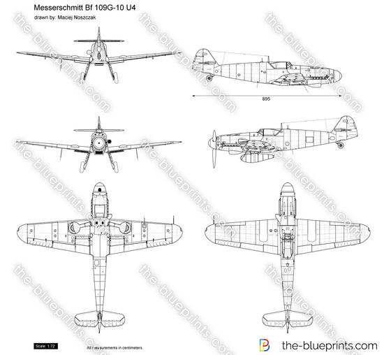 Messerschmitt Bf 109G-10 U4