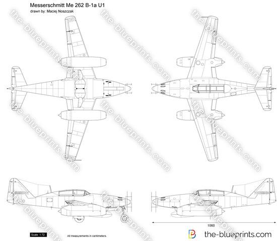 Messerschmitt Me 262 B-1a U1