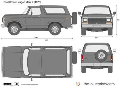Ford Bronco wagon Mark 2 (1978)