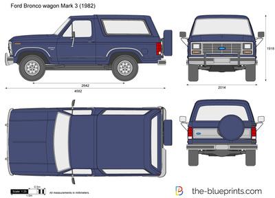 Ford Bronco wagon Mark 3 (1982)