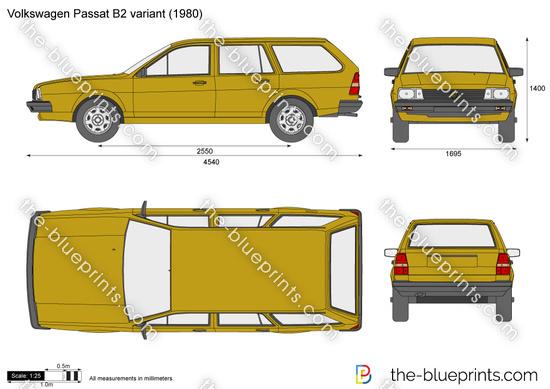 Volkswagen Passat B2 variant