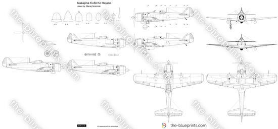 Nakajima Ki-84 Ko Hayate