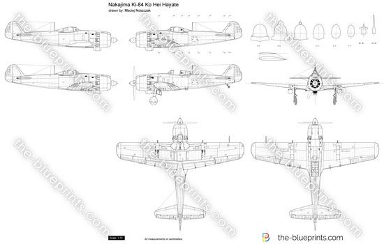 Nakajima Ki-84 Ko Hei Hayate