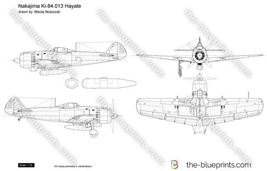 Nakajima Ki-84.013 Hayate