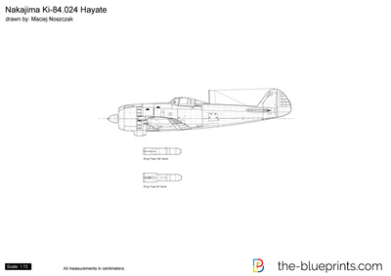 Nakajima Ki-84.024 Hayate