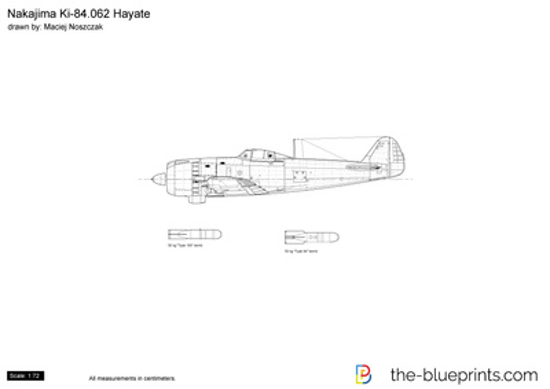 Nakajima Ki-84.062 Hayate
