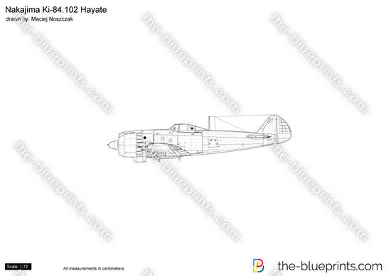 Nakajima Ki-84.102 Hayate