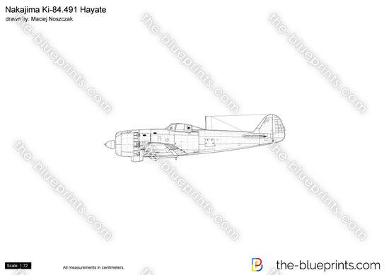 Nakajima Ki-84.491 Hayate