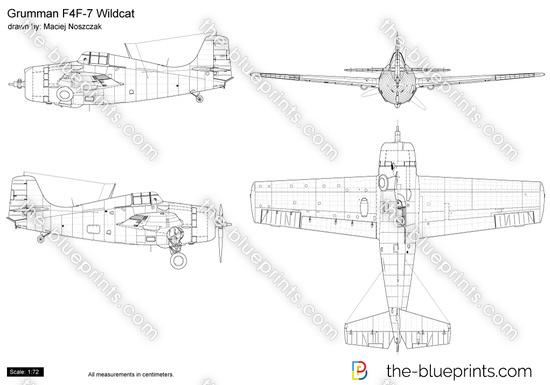 Grumman F4F-7 Wildcat