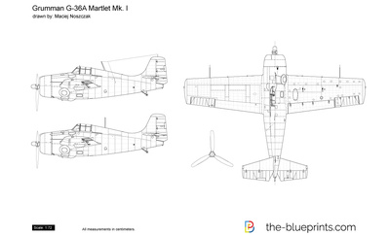Grumman G-36A Martlet Mk. I