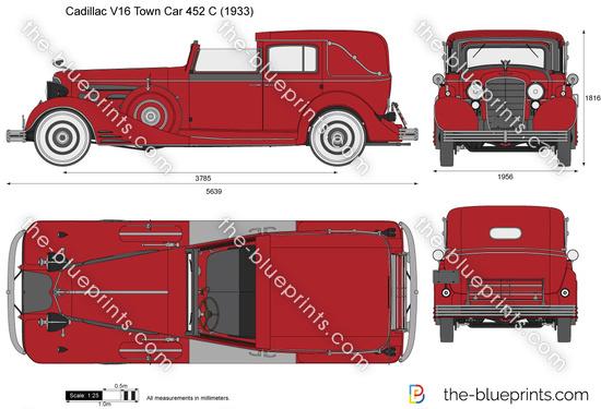 Cadillac V16 Town Car 452 C