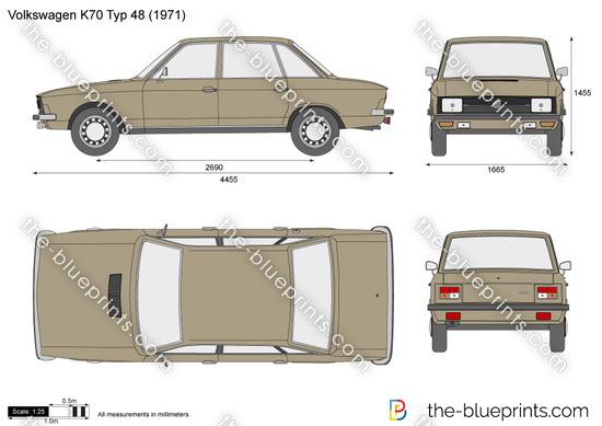Volkswagen K70 Typ 48