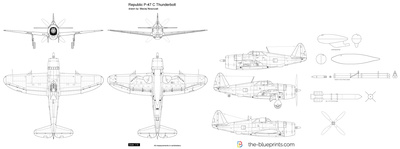 Republic P-47 C Thunderbolt
