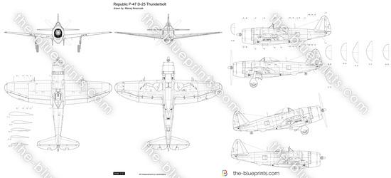 Republic P-47 D-25 Thunderbolt