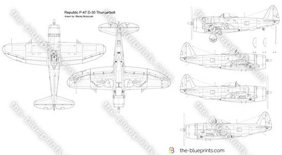 Republic P-47 D-30 Thunderbolt