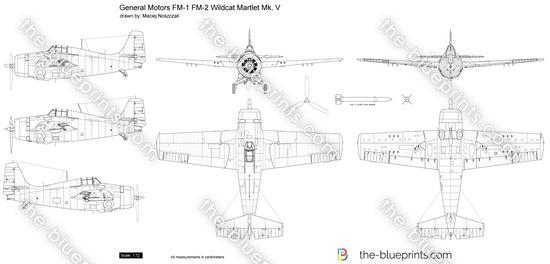 General Motors FM-1 FM-2 Wildcat Martlet Mk. V