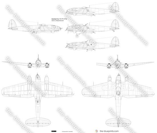 Heinkel He 111 P-1 P-2