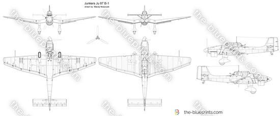 Junkers Ju 87 B-1