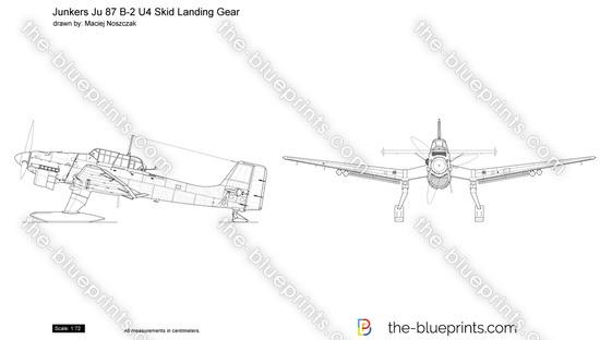 Junkers Ju 87 B-2 U4 Skid Landing Gear