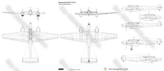 Messerschmitt Bf 110 B-1