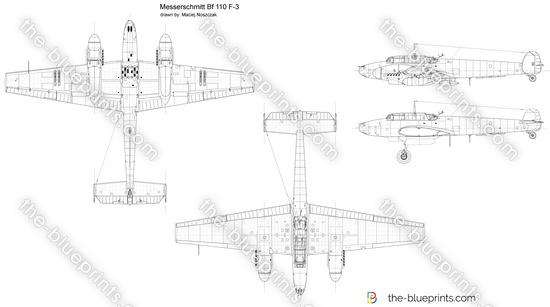 Messerschmitt Bf 110 F-3