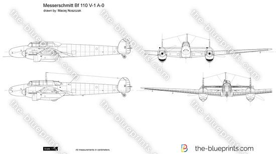 Messerschmitt Bf 110 V-1 A-0