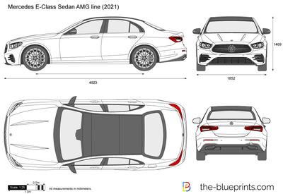 Mercedes E-Class Sedan AMG line (2021)