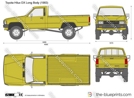 Toyota Hilux DX Long Body