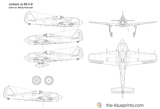 Junkers Ju 88 A-8