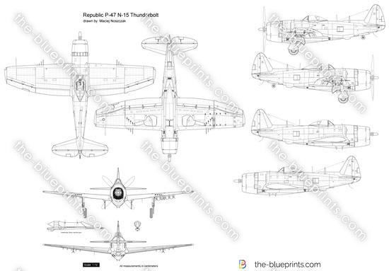 Republic P-47 N-15 Thunderbolt