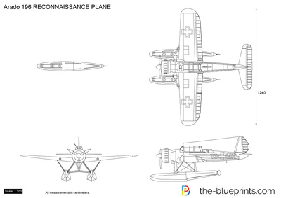 Arado 196 RECONNAISSANCE PLANE