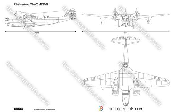 Chetverikov Che-2 MDR-6